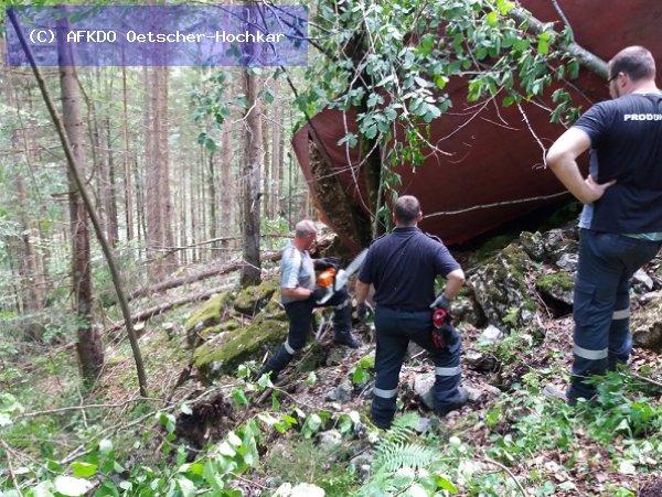 Verkehrsunfall vom 09.06.2017  |  (C) AFKDO Oetscher-Hochkar (2017)